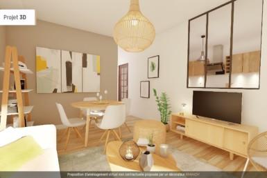 Appartement avec 2 chambres à vendre à Marseille 14